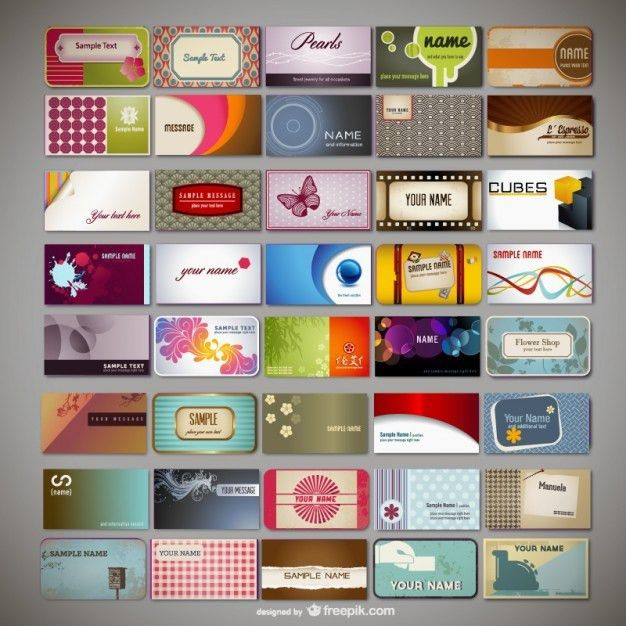 250+ Business Card Template Vectors | Download Free Vector Art ...