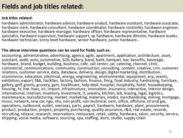 Top 36 hardware interview questions with answers pdf