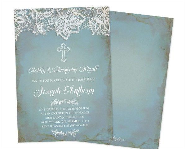 Baptism Invitation Templates - 9+ Free PSD, Vector AI, EPS Format ...