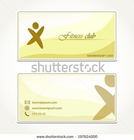 Gym Membership Card Stock Images, Royalty-Free Images & Vectors ...