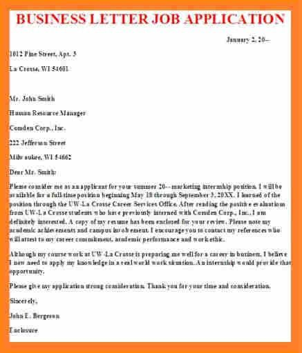Letter Of Application. Useful Vocabulary And Writing Skills For ...