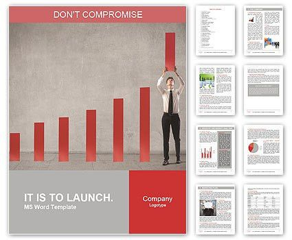 Annual Report Word Template & Design ID 0000007983 ...