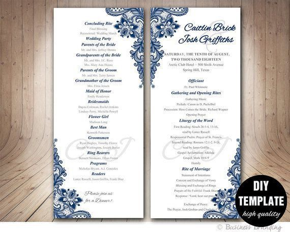 Best 25+ Elegant wedding programs ideas only on Pinterest ...