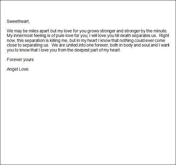 Sample Romantic Letters - 14+ Free Documents in Word