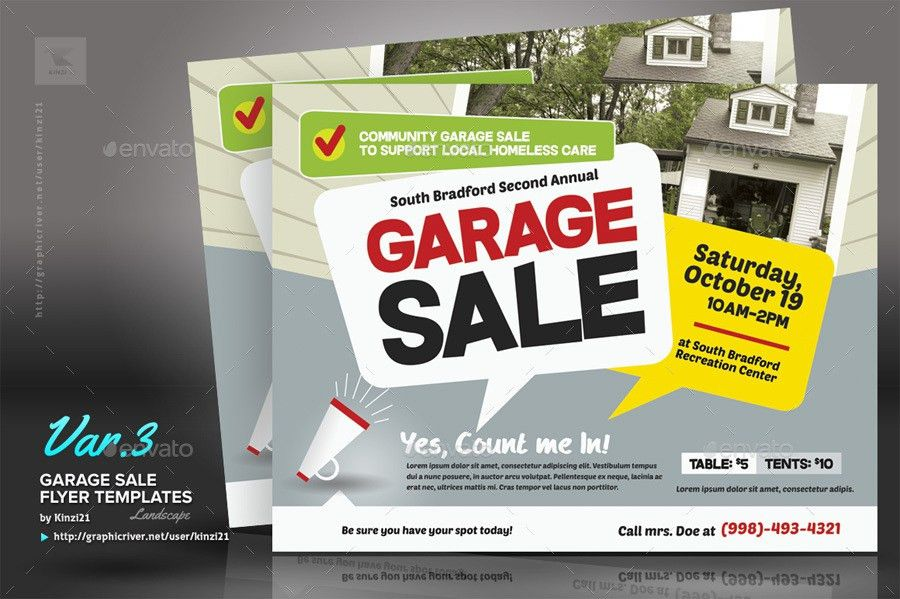 Yard Sale Flyer Template. New-Garage-Sale-Flyer-Screenshots ...