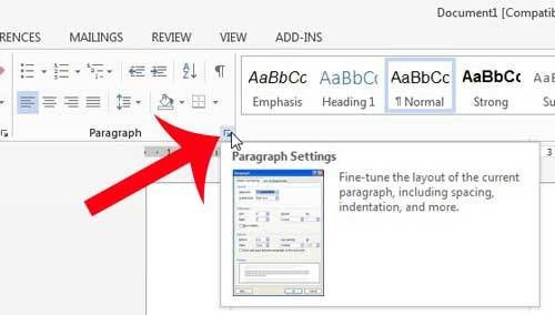 How to Turn Off Double Spacing in Word 2013 - Solve Your Tech