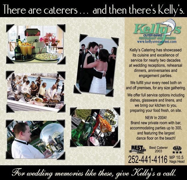 Kelly's Restaurant and Tavern Catering Ad | |