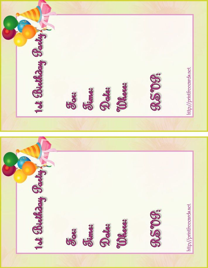 Card Invitation Design Ideas: Free Kids Birthday Invitations Free ...