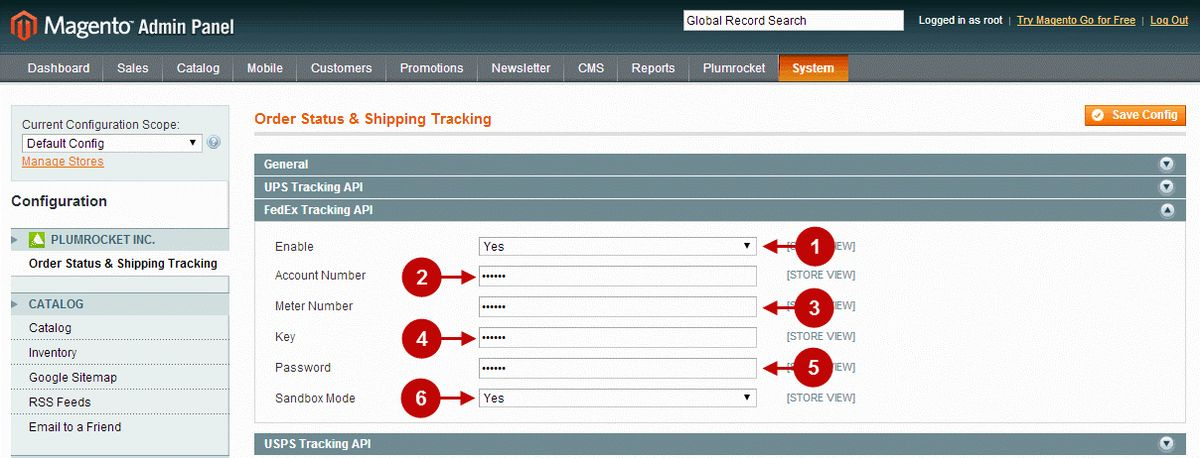 Magento Order Status & Shipping Tracking v1.x Configuration