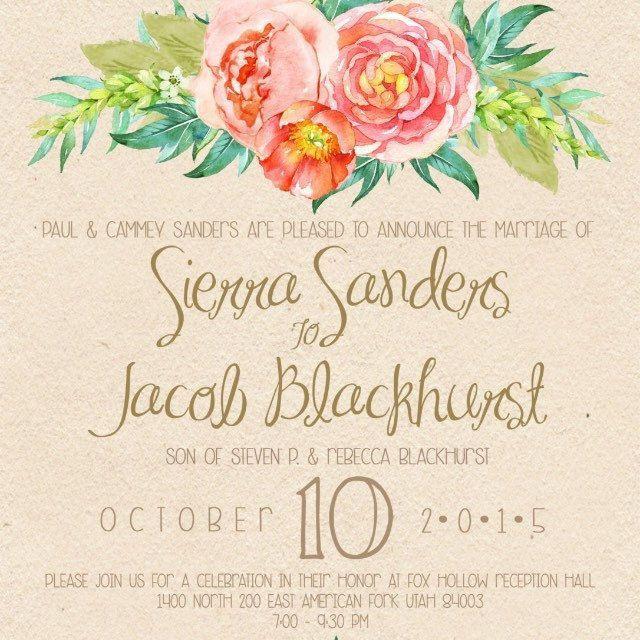 280 best wedding invites + paper design images on Pinterest ...