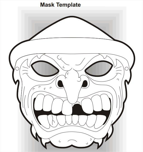 19+ Scary Masks - Free Vector AI, EPS, PDF Format Download | Free ...
