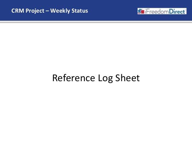 Weekly Project Status Report_070215