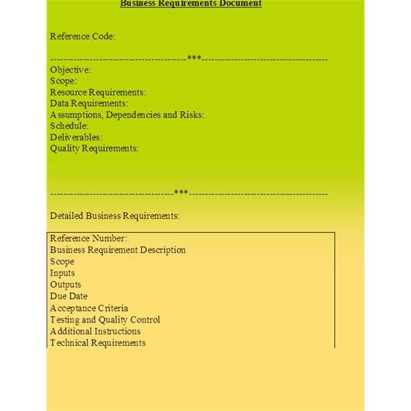 10 Tips for Preparing a Business Requirements Document