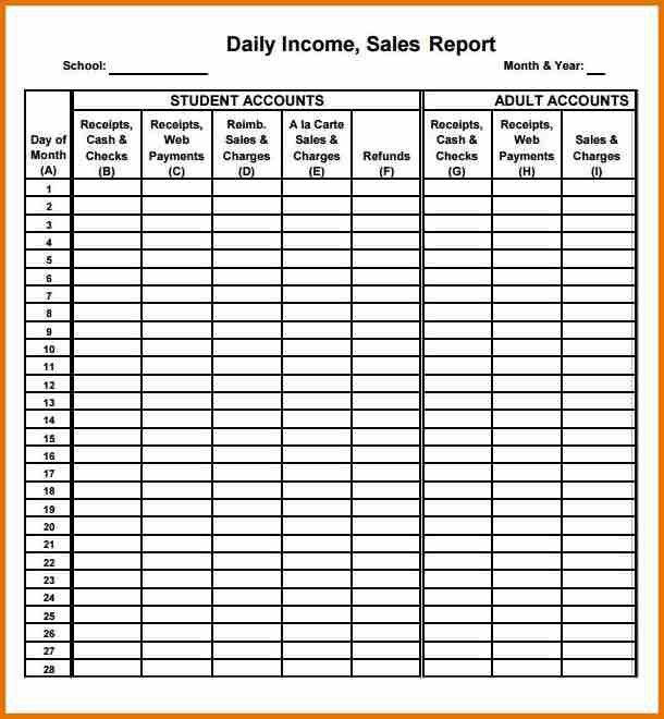 11+ daily sales call report template | plantemplate.info