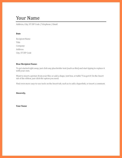 9+ resume and cover letter template microsoft word | Life ...