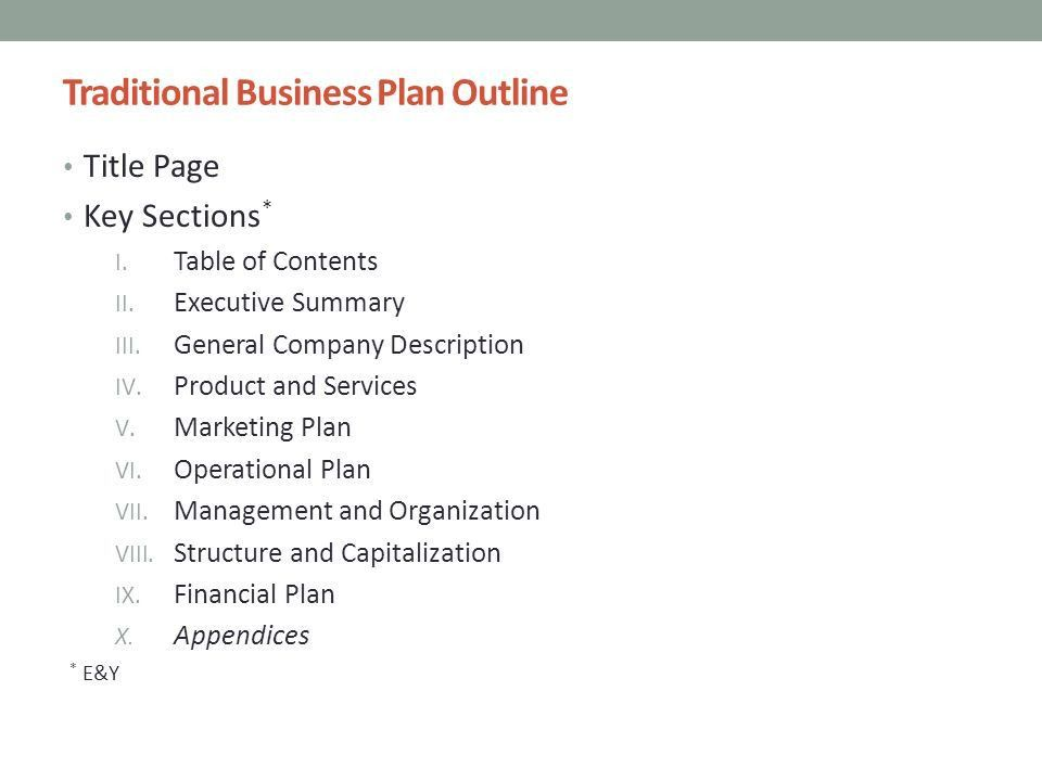 Business Plans & Elevator PitcheS - ppt download