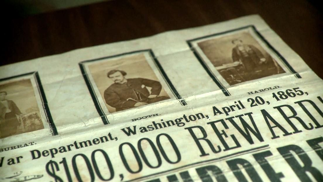 John Wilkes Booth Wanted Poster Video - John Wilkes Booth ...
