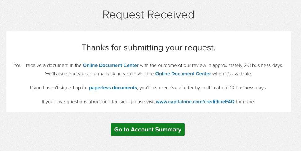 How (and why) to Request a Credit Limit Increase with Capital One