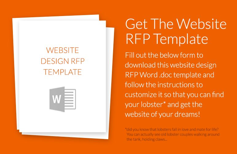 How To Write a Website Design RFP (w/Example Template!)