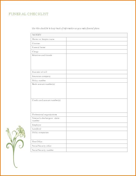 4+ funeral program template word | teknoswitch