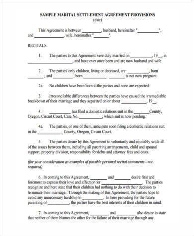 Sample Settlement Agreement. Sample Settlement Agreement Example ...