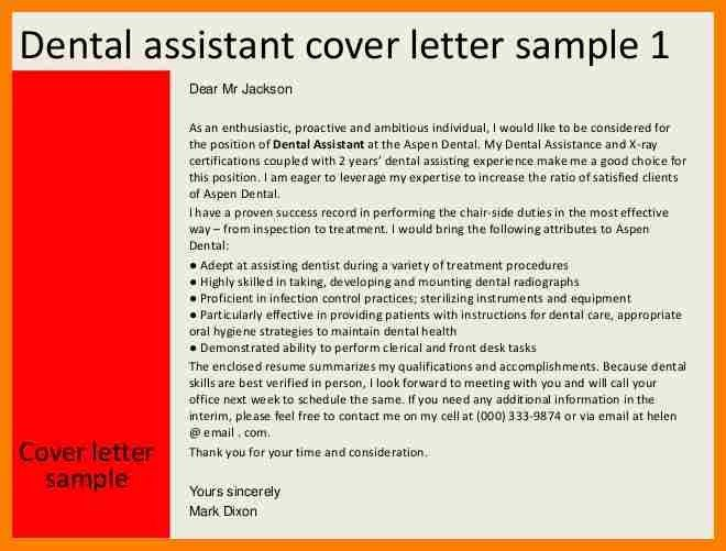 10+ dental assistant cover letter | billing clerk resume