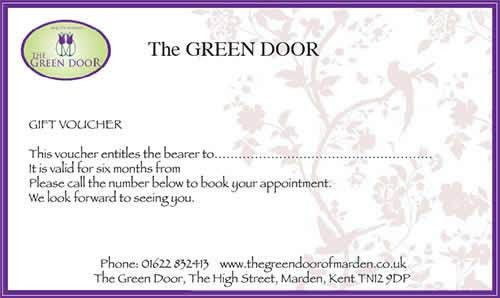 Gift Vouchers make the ideal present for friends and family