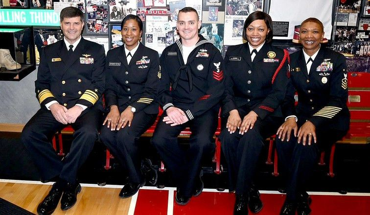 Bulls welcome Navy's Sailor of the Year candidates | Chicago Bulls