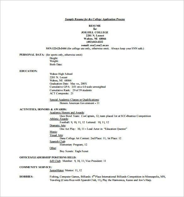 high school resume template word high school theater resume - High School Resume Template Word