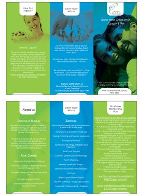 18 Modern Professional Dental Flyer Designs for a Dental business ...