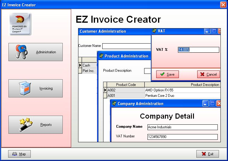 SSuite EZInvoice Creator - SSuite Free Office Software