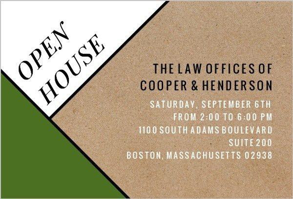 Business Open House Invitation | almsignatureevents.com