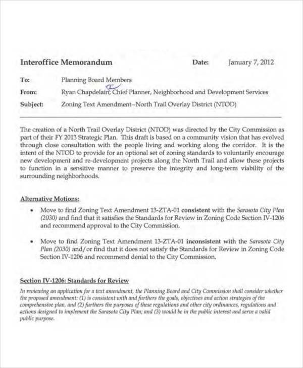 Sample Interoffice Memo. 8+ Legal Memorandum Format | Tutor ...