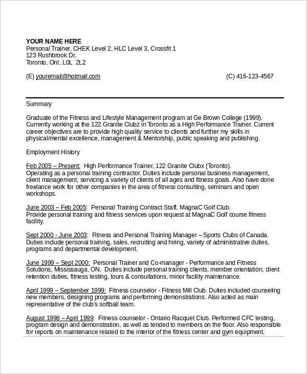 Horse Trainer Resume Horse Trainer Resume Free Layout Format, Horse