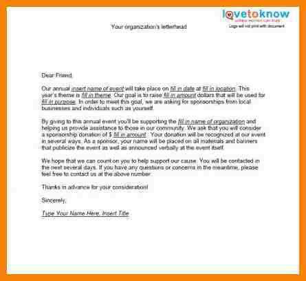 5+ sponsor letter for event | hr cover letter