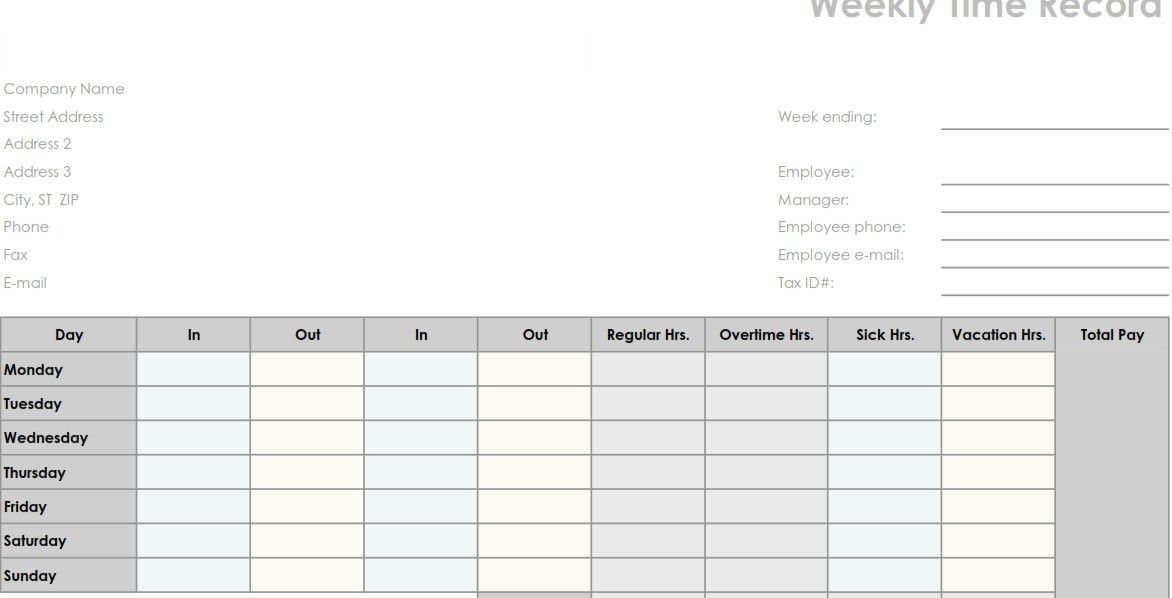 daily group timesheet | timesheets | Pinterest | Group and Free ...