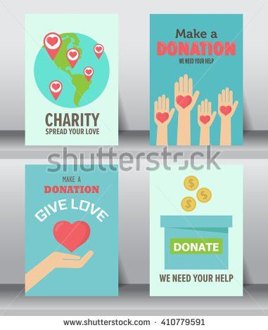 Give Share Your Love Poor People Stock Vector 410779591 - Shutterstock