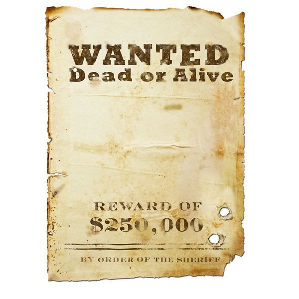 15+ Printable Wanted Poster Templates (FBI and Old West) | ExcelBuz