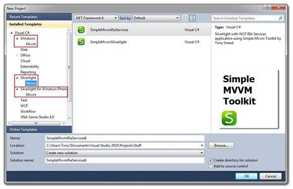 Build a Multi-Project Visual Studio Template | Tony Sneed's Blog