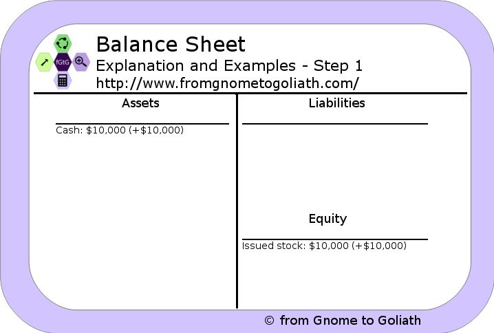 Balance Sheet - Explanation and Examples - from Gnome to Goliath