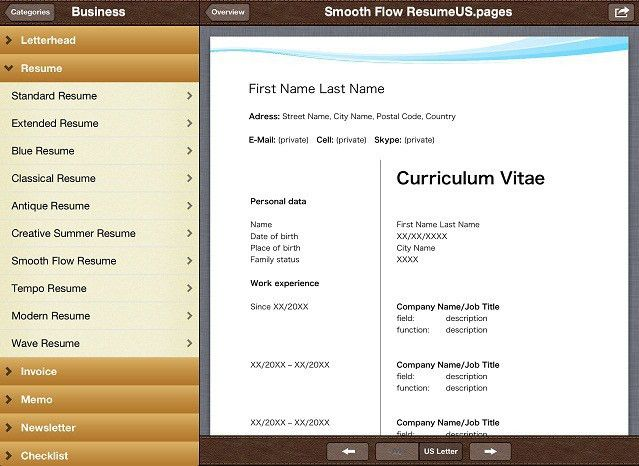 Spice Up Your Resume & Other Docs With Templates For Pages Pro ...