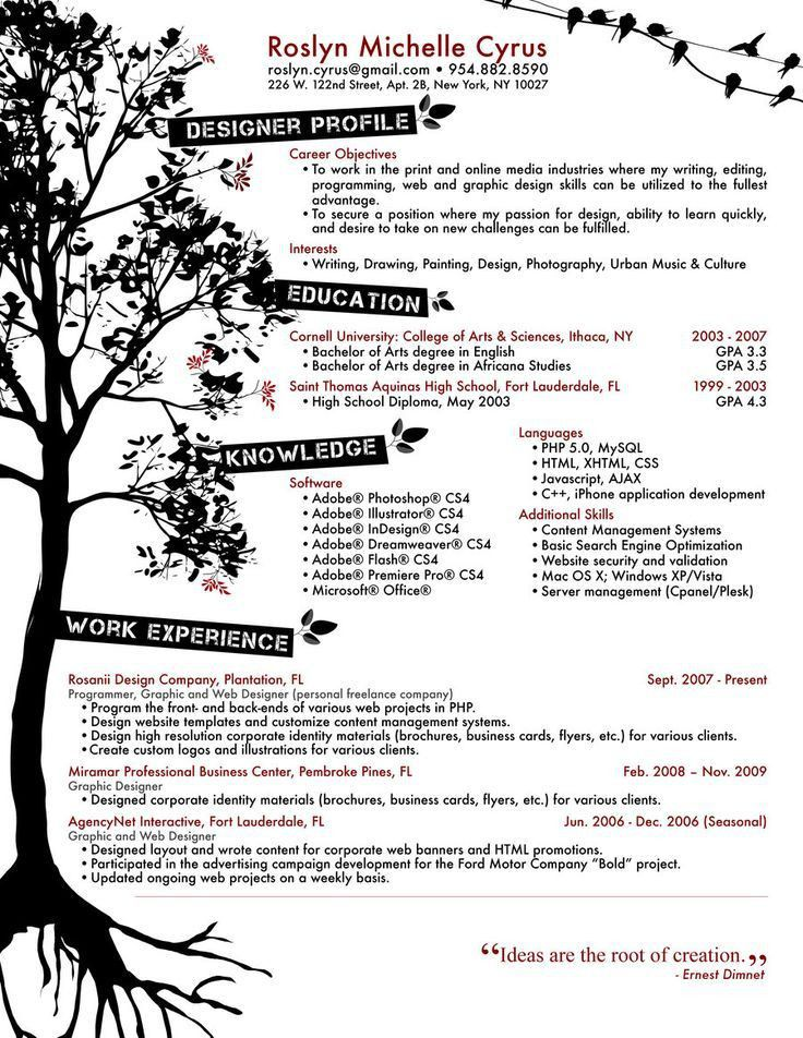 65 best Resumes images on Pinterest | Resume ideas, Infographic ...