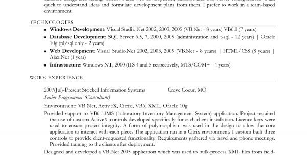 sql server dba resume database administrator simple resume format ...