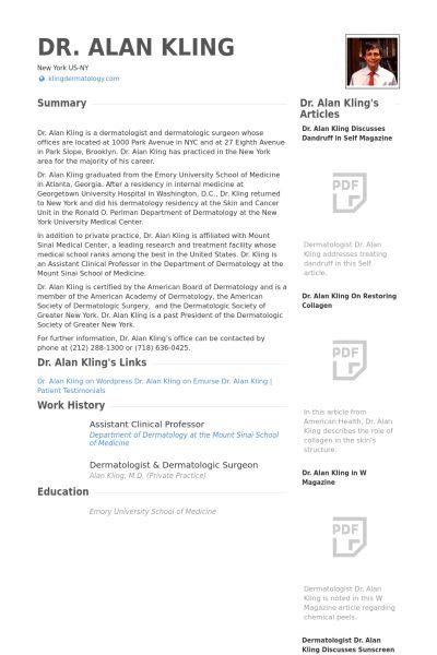 Assistant Clinical Professor Resume samples - VisualCV resume ...