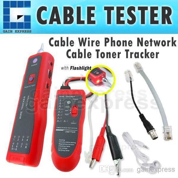 N03NF-806R Telephone Tracer Network LAN RJ45 Cable Tester Tracker ...