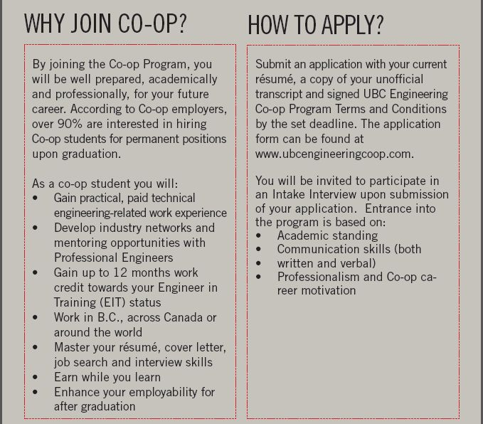 19] Co-op For Engineers | Engineering Student