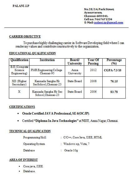 Best Cv For Bcom Freshers. cv resume format for freshers offer ...