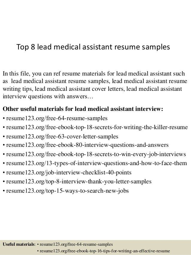top-8-lead-medical-assistant-resume-samples-1-638.jpg?cb=1433156809