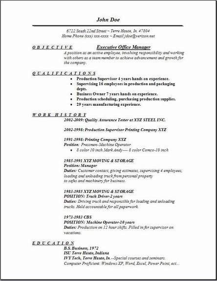 administrative resume objective examples administrative assistant