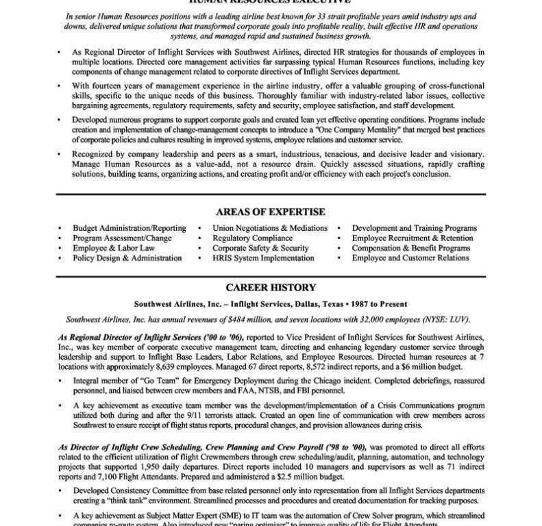 Classy Idea Human Resources Manager Resume 11 Sample Human ...